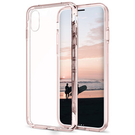 Zizo PC+TPU Case Etui Obudowa iPhone Xs / X (Crystal Pink)