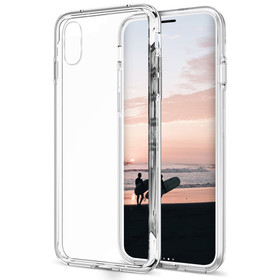 (EOL) Zizo PC+TPU Case Etui Obudowa do iPhone Xs / X (Clear)