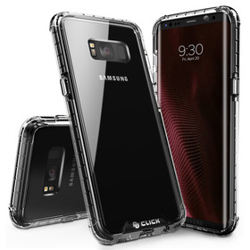Zizo Click Case Surge Series Etui Obudowa do Samsung Galaxy S8 (Black/Clear)