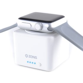 Zens Apple Watch Power Bank 1300 mAh (White)