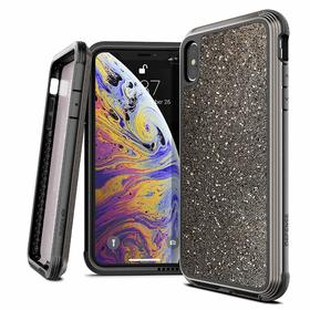 X-Doria Defense Lux Etui Aluminiowe iPhone Xs Max (Dark Glitter) (Drop Test 3m)