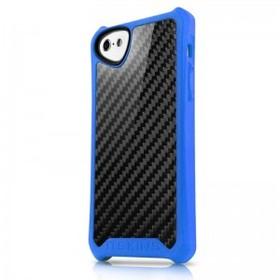 (EOL) ItSkins Atom Sheen Etui Obudowa iPhone 5C (Black/Blue)