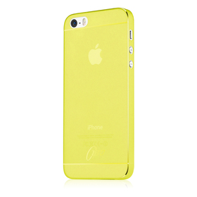 ItSkins Zero 360 Etui Obudowa iPhone SE / 5S / 5 (Yellow)