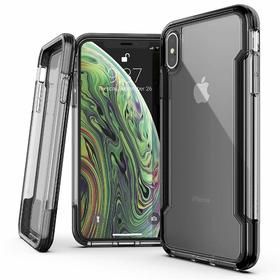 (EOL) X-Doria Defense Clear Etui Obudowa do iPhone Xs / X (Black)