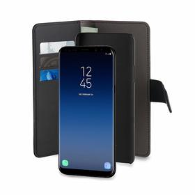 Puro Wallet Detachable Etui Portfel 2w1 do Samsung Galaxy S9 (Czarny)