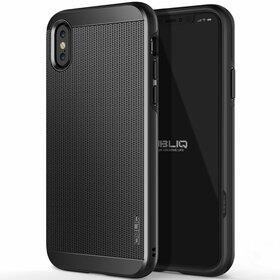 Obliq Slim Meta Etui Obudowa do iPhone Xs / X (Titanium Black)