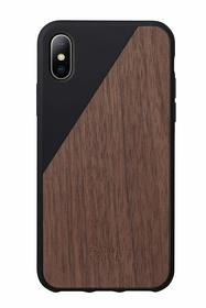 Native Union Clic Wooden Etui Drewniane do iPhone Xs / X (Black)