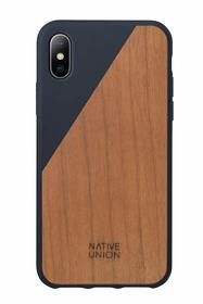 Native Union Clic Wooden Etui Drewniane do iPhone Xs / X (Marine)
