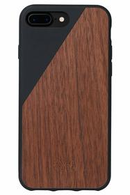 Native Union Clic Wooden Etui Drewniane do iPhone 8 Plus / 7 Plus (Black)