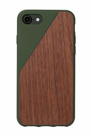 Native Union Clic Wooden Etui Drewniane do iPhone 8 / 7 (Olive)
