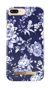 iDeal Of Sweden Fashion Case Etui Obudowa do iPhone 8 Plus / 7 Plus / 6S Plus / 6 Plus (Sailor Blue Bloom)