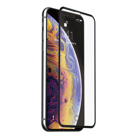 Just Mobile Xkin 3D Tempered Glass Screen Protector Szkło Hartowane do iPhone Xs Max (Transparent/Black)