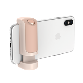 Just Mobile ShutterGrip Uchwyt Foto Ze Spustem Migawki Bluetooth do iOS/Android (Gold)