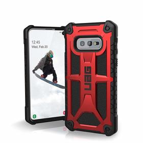 Urban Armor Gear UAG Monarch Etui Pancerne do Samsung Galaxy S10e (Crimson)