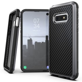 X-Doria Defense Lux Etui Aluminiowe do Samsung Galaxy S10e (Black Carbon)