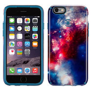 SPECK CANDYSHELL INKED - ETUI POKROWIEC - IPHONE 6/6S 4.7 (RED PATTERN / TAHOE BLUE)