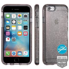 (EOL) Speck CandyShell Clear With Glitter Etui Obudowa do iPhone 6S / 6S (Onyx/Gold Glitter)