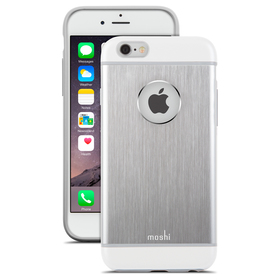 Moshi iGlaze Armour Etui Aluminiowe do iPhone 6S / 6 (Silver)