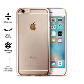 (EOL) Puro Satin Cover Etui Obudowa iPhone 6S / 6 (Gold)