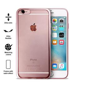 Puro Satin Cover Etui Obudowa iPhone 6S / 6 (Rose Gold)