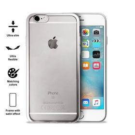 Puro Satin Cover Etui Obudowa iPhone 6S / 6 (Silver)