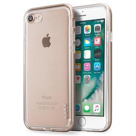 Laut Exoframe Etui z Aluminiową Ramką do iPhone 8 / 7 (Gold) + 2 Folie Na Ekran