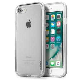 Laut Exoframe Etui z Aluminiową Ramką do iPhone 8 / 7 (Silver) + 2 Folie Na Ekran