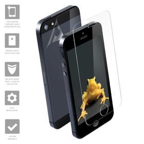 Wrapsol Hybrid Szkło Hartowane 9H Na Ekran + Folia Na Obudowę iPhone SE / 5S / 5