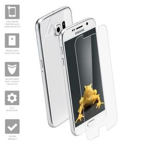 Wrapsol Hybrid Szkło Hartowane Na Ekran + Folia Na Obudowę do Samsung Galaxy S7