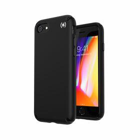 Speck Presidio2 Pro Etui Ochronne do iPhone SE (2020) / iPhone 8 / iPhone 7 z Powłoką Microban (Black/Black)