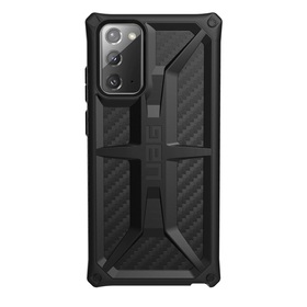 Urban Armor Gear Monarch Etui Pancerne do Samsung Galaxy Note20 (Carbon Fiber)