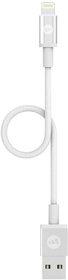Mophie Przewód USB ze Złączem Lightning (9 cm) (White)
