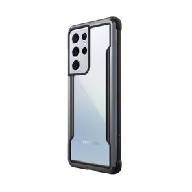 Raptic Shield Etui Aluminiowe do Samsung Galaxy S21 Ultra (Antimicrobial Protection) (Black)