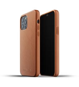 Mujjo Full Leather Case Etui Skórzane do iPhone 12 Pro / iPhone 12 (Tan)