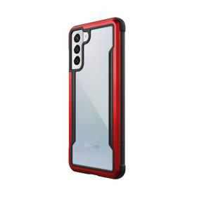 Raptic Shield Etui Aluminiowe do Samsung Galaxy S21+ (Antimicrobial Protection) (Red)