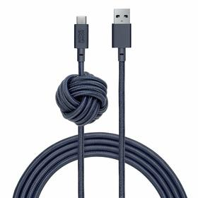 Native Union Night Cable Kabel USB ze Złączem USB-C z Węzłem 3m (Marine)