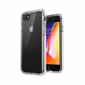 Speck Presidio Perfect-Clear Etui Ochronne do iPhone SE (2020) / iPhone 8 / iPhone 7 z Powłoką Microban (Clear)