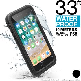 Catalyst Waterproof Case Wodoszczelne Etui (IP-68 do 10 m głębokości) do iPhone SE (2020) / iPhone 8 / iPhone 7 (Stealth Black)