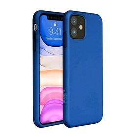 Crong Color Cover Etui Obudowa do iPhone 11 (Blue)