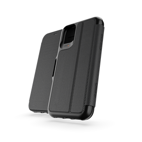 Gear4 D3O Oxford Eco Etui Ochronne z Klapką do iPhone 11 (Black)
