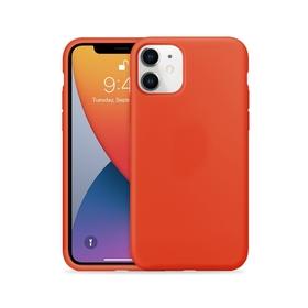 Crong Color Cover Etui Obudowa do iPhone 11 (Czerwony)