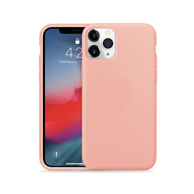 Crong Color Cover Etui Obudowa do iPhone 11 Pro Max (Rose Pink)