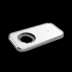 Zens Aluminium 3w1 MagSafe Wireless Charger Ładowarka Bezprzewodowa 45 W (White)