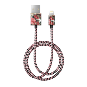 iDeal of Sweden Cable Kabel USB ze Złączem Lightning MFI 1m (Antique Roses)