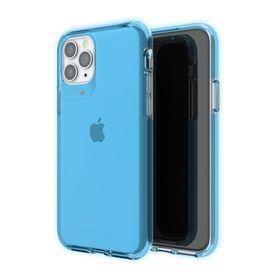 Gear4 Crystal Palace Neon Etui Obudowa do iPhone 11 Pro Max (Neon Blue)