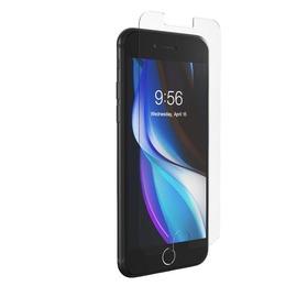 InvisibleShield Glass Elite+ Szkło Hartowane na Ekran z Powłoką Antybakteryjną do iPhone SE (2020) / iPhone 8 / iPhone 7