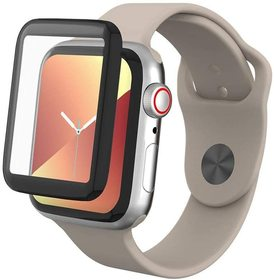 InvisibleShield GlassFusion Szkło Hybrydowe na Cały Ekran do Apple Watch (40 mm)