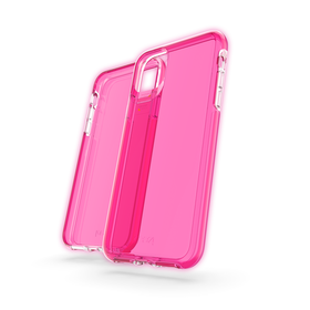 Gear4 D3O Crystal Palace Etui Ochronne do iPhone 11 Pro Max (Neon Pink)