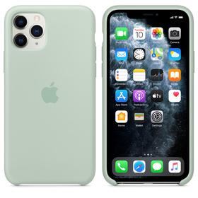 Apple Silicone Case MXM72ZM/A Etui Silikonowe do iPhone 11 Pro (Akwamaryna)