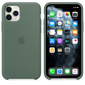 Apple Silicone Case MWYM2ZM/A Etui Silikonowe do iPhone 11 Pro (Sosnowy)
